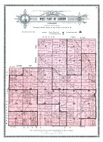Auburn Township - West, Shawnee County 1921